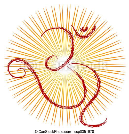 OM - The symbol - csp0351970