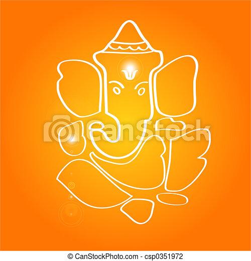 Sri Ganesha - csp0351972