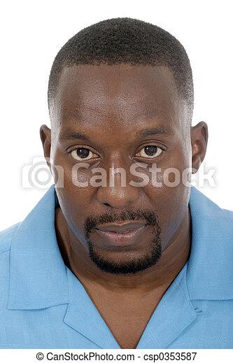 Handsome Casual Male Portrait 2 - csp0353587
