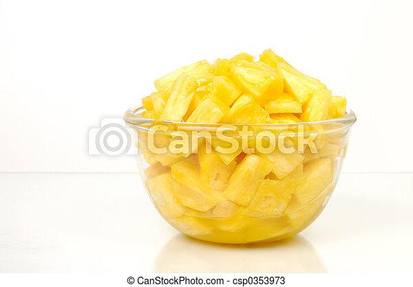 Pineapple pieces - csp0353973