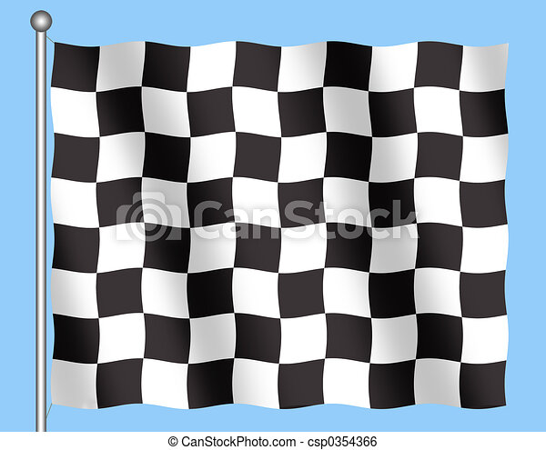 Checkered Flag - csp0354366