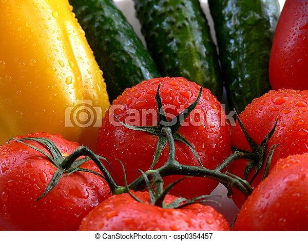 grönsaken - csp0354457