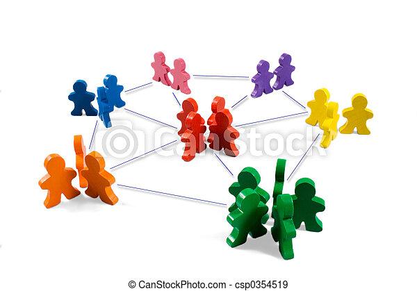 Nätverksarbetande - csp0354519