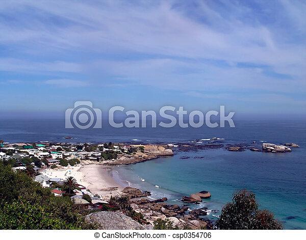 cape town seascape - csp0354706