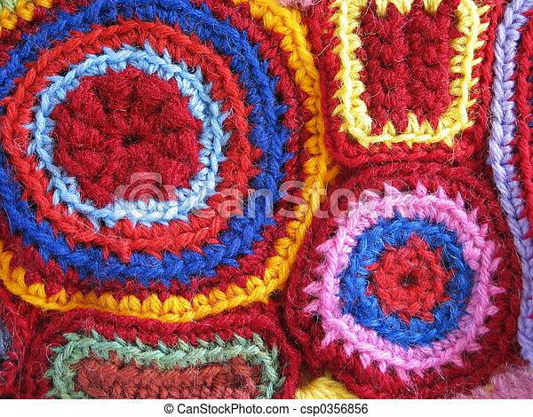 Geometric Crochet - csp0356856