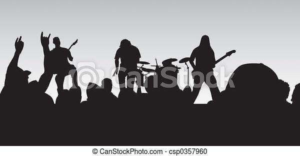 Rock Concert - csp0357960