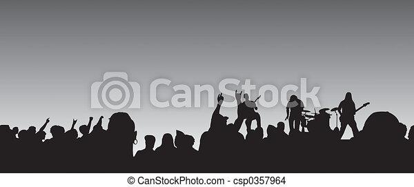 Panoramic Concert - csp0357964