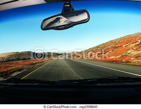 Driving on the road - csp0358640