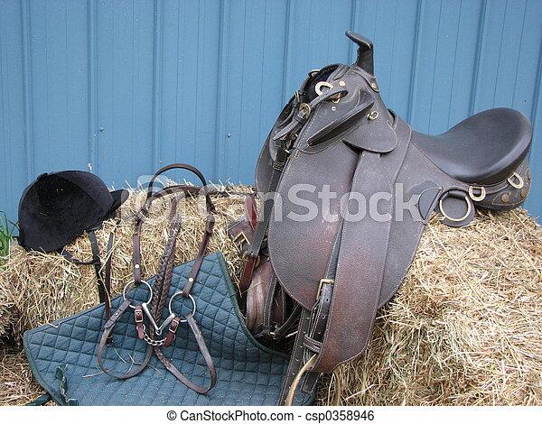 Equestrian Tack - csp0358946