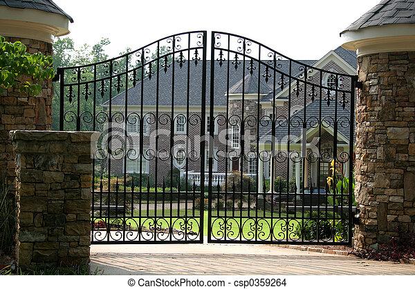 Brick Mansion - csp0359264