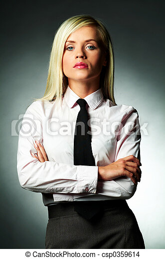 Woman In White Shirt And Tie | Is Shirt