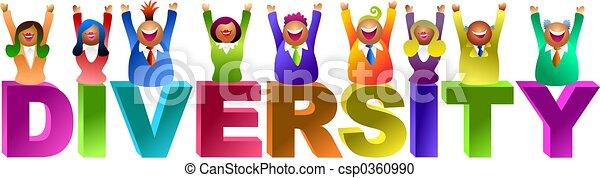 diversity word - csp0360990