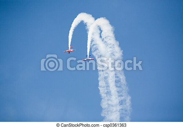 stunt planes - csp0361363