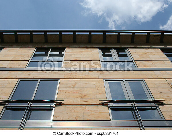 Office building detail - csp0361761