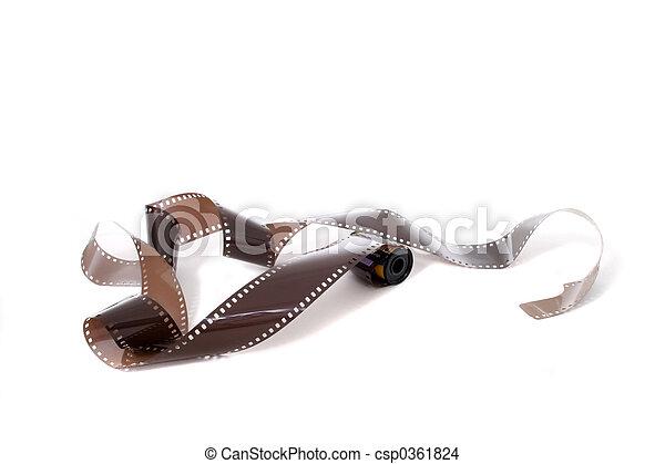Unexposed Roll Of Film - csp0361824