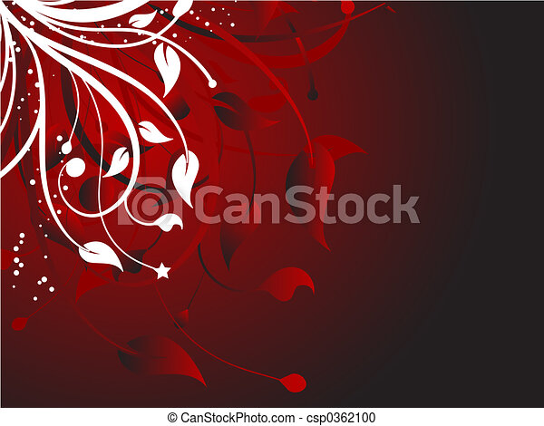 Floral abstract - csp0362100