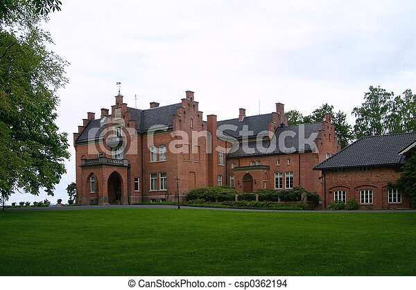 Mansion in Norway - csp0362194