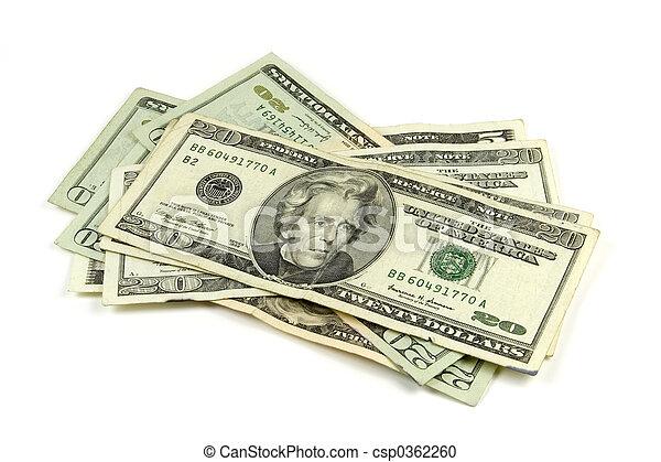 Money - csp0362260