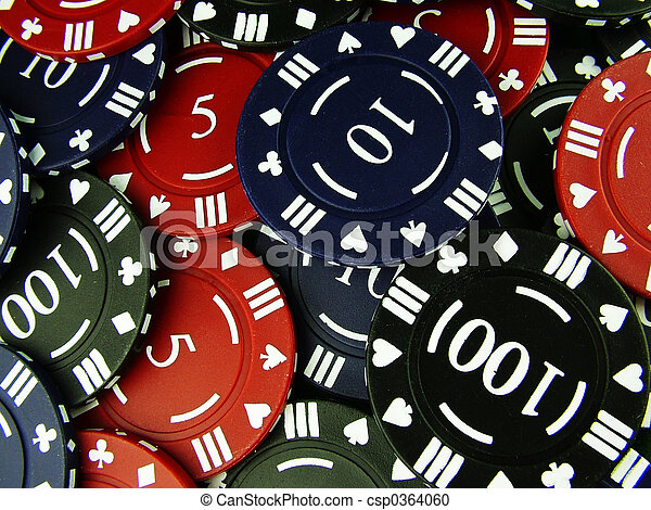 Gambling Chips - csp0364060