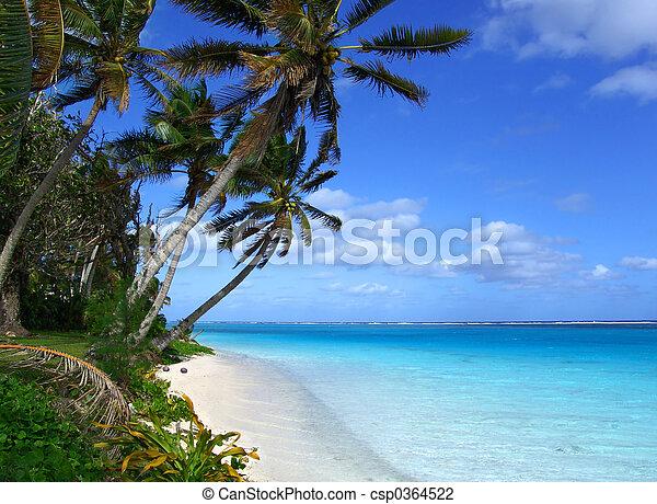 Island Lagoon - csp0364522