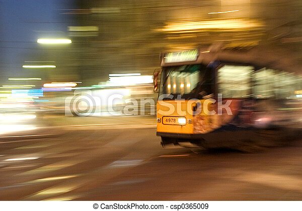 Travelling by tram