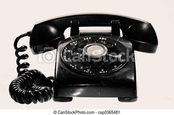 Vintage Telephone - csp0365481