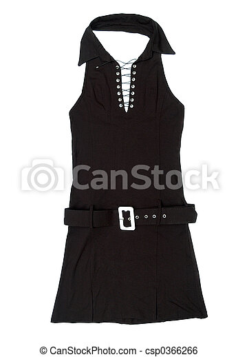Black female short dress - csp0366266