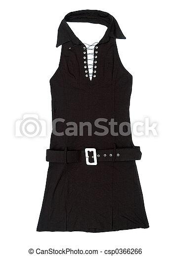 Black female short dress - csp0366266
