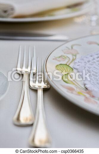 wedding table - csp0366435