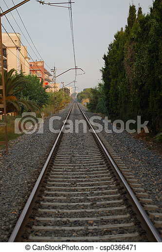 The train track - csp0366471