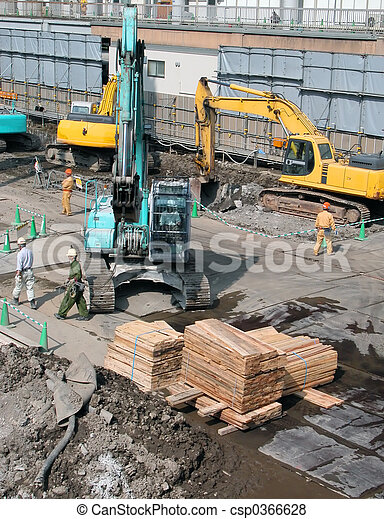 Construction site - csp0366628