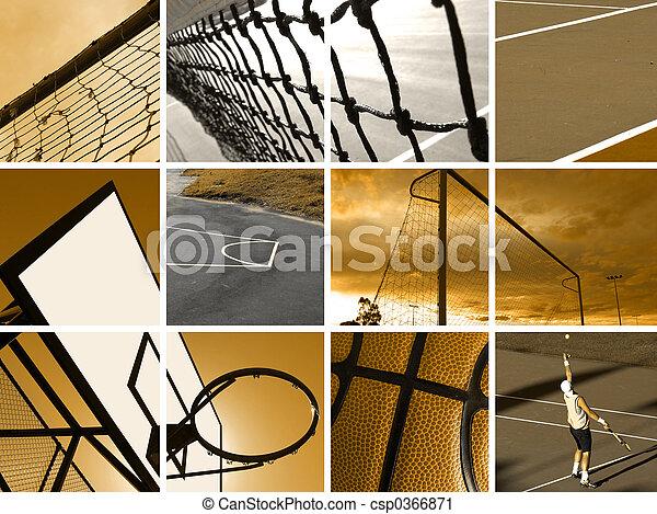 Sport Montage - csp0366871