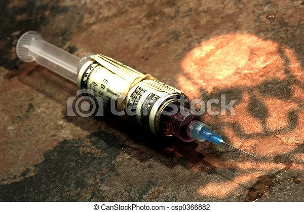 Drug Addiction - csp0366882