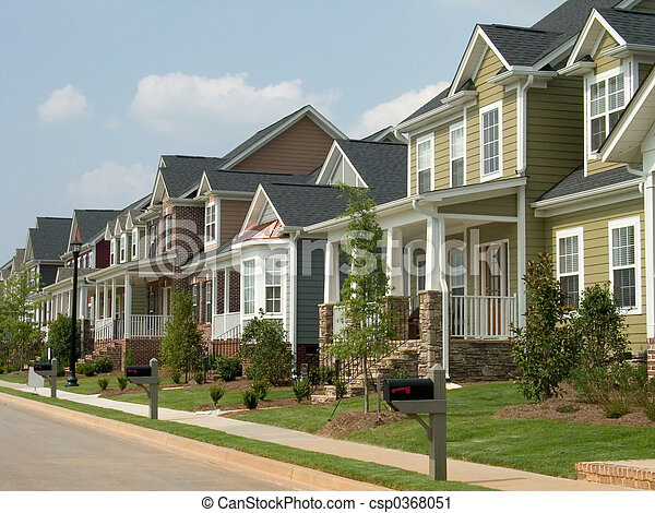 row houses - csp0368051