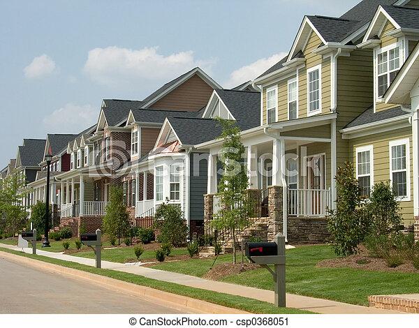 row houses - csp0368051