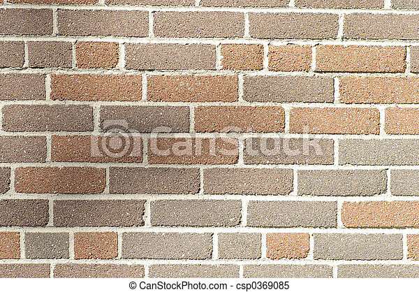 Multi Brown Brick - csp0369085