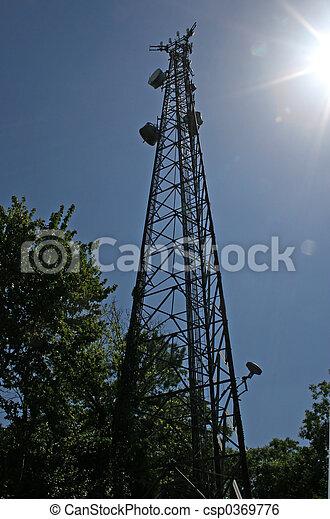 Microwave Tower 2 - csp0369776