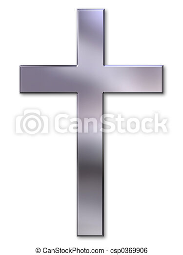 Silver cross - csp0369906