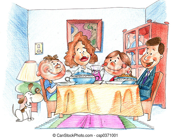 The dinner - csp0371001