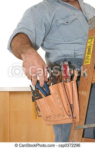 Electrician\'s Tools - csp0372296