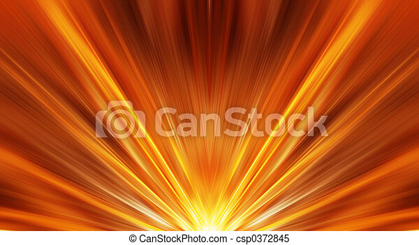 Abstract sunrise - csp0372845