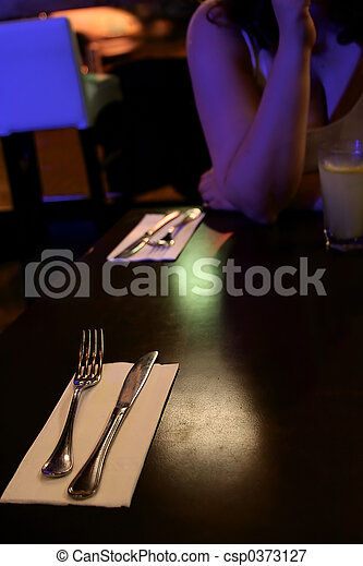 restaurant table - csp0373127
