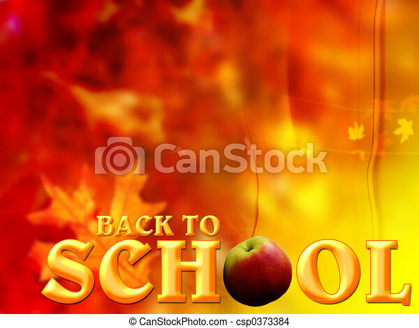 "\""Back to School\\\"" bac - csp0373384"