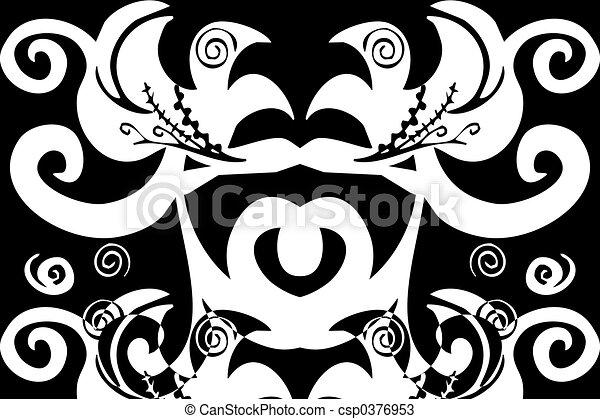 swirls pattern - csp0376953