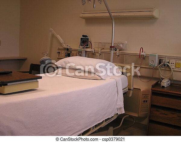 Hospital Room 4 - csp0379021