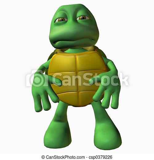 Turtle Boy -Bummer - csp0379226