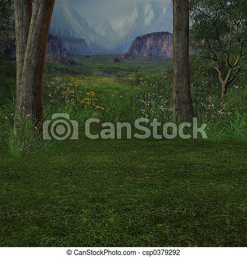 Dreamy Forrest - csp0379292
