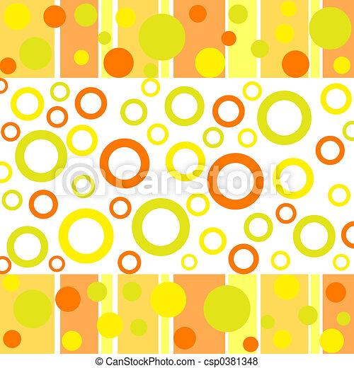 Dots and circles - csp0381348