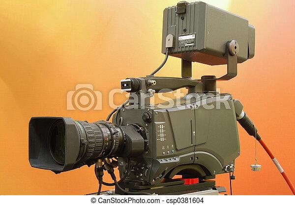 Broadcast camera - csp0381604