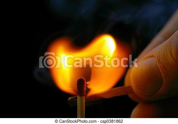 Igniting Matches - csp0381862